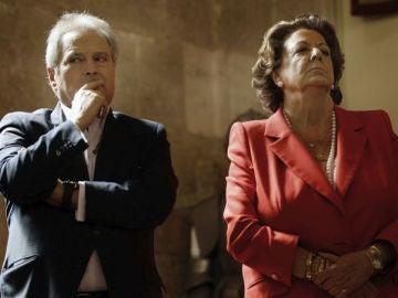 Alfonso Rus y Rita Barberá, juntos