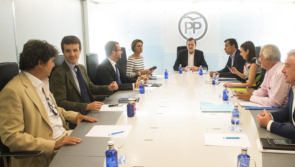 Miembros de la Ejecutiva del Partido Popular