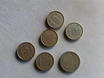 Imagen de varias monedas
