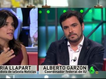 Alberto Garzón responde a las preguntas en laSextaNoche