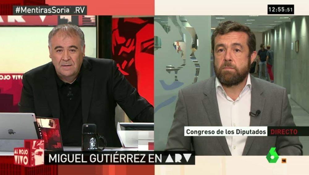 "Gutiérrez: ""C's se sumará a Unidos Podemos y PSOE para exigir a De Guindos dar explicaciones sobre Soria"""