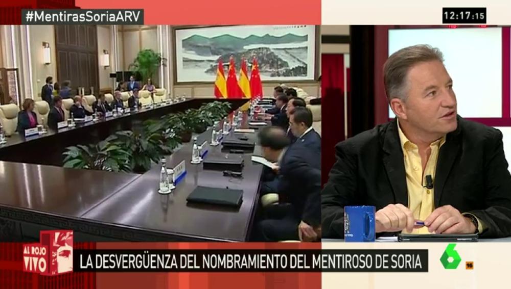 """Carlos Segovia, del cargo de Soria: """"Rajoy y De Guindos están sorprendidos de las críticas de C's y algunos del PP"""""""