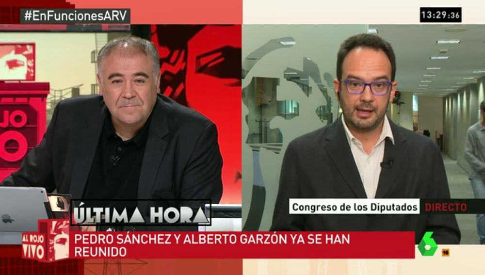 """Antonio Hernando: """"¿Qué credibilidad tiene Rajoy después de pillarle en tantas mentiras? Seguiremos en el 'no"""""""
