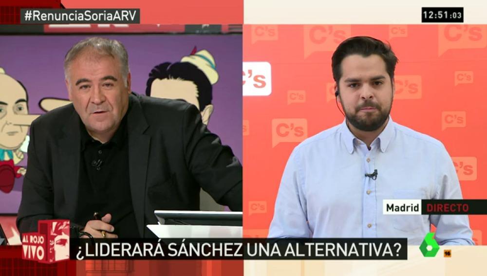 """De Páramo: """"Espero que la crisis interna del PSOE no nos cueste un Gobierno inviable o unas terceras elecciones"""""""