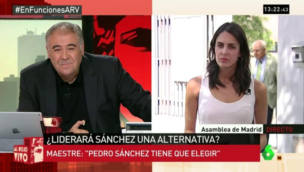 """Rita Maestre, sobre 'Adelante Podemos': """"Hemos planteado una iniciativa descentralizada y participativa"""""""