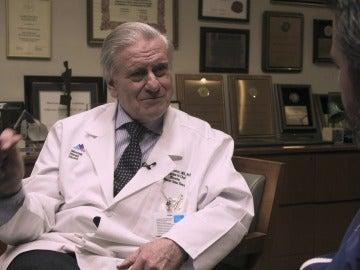 El doctor Fuster en Enviado Especial