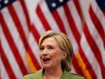 Imagen de Hillary Clinton, candidata demócrata a la Casa Blanca