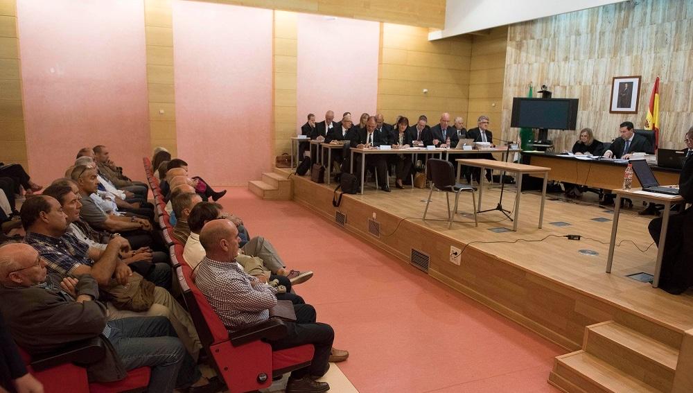 El banquillo de los acusados por el caso de la Alhambra