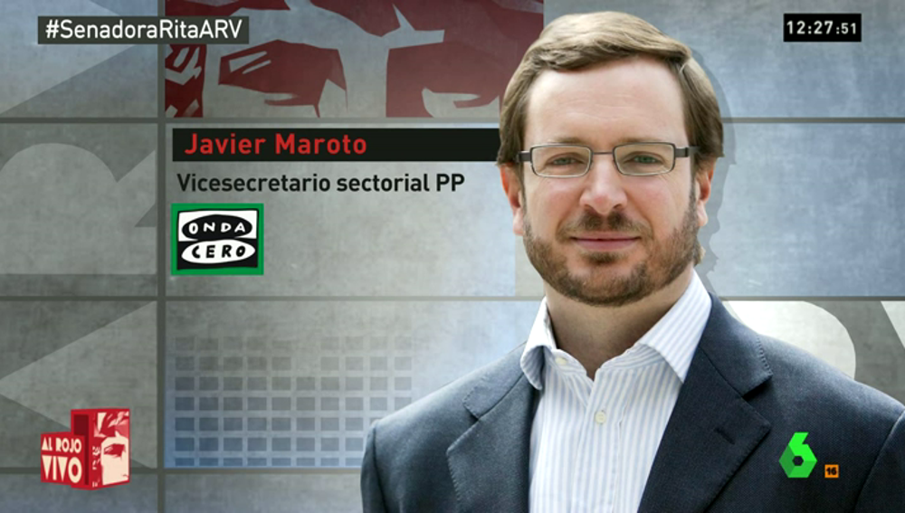 """Frame 39.555442 de: Maroto y De Guindos, los """"duros del PP"""" que critican la actitud de Rita Barberá -otros son más """"blandos""""-"""