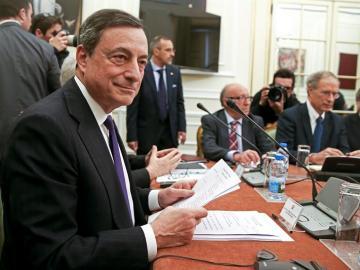 El presidente del Banco Central Europeo (BCE), Mario Dragh