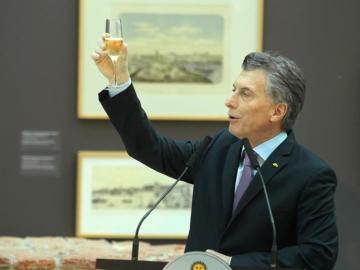 En la imagen, el presidente argentino, Mauricio Macri