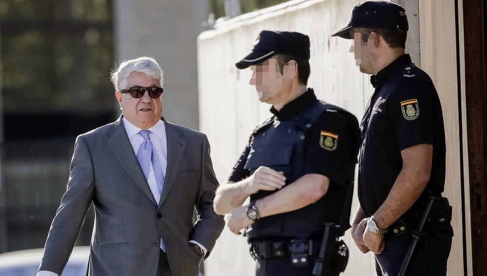 El expresidente de la patronal madrileña, Arturo Fernández