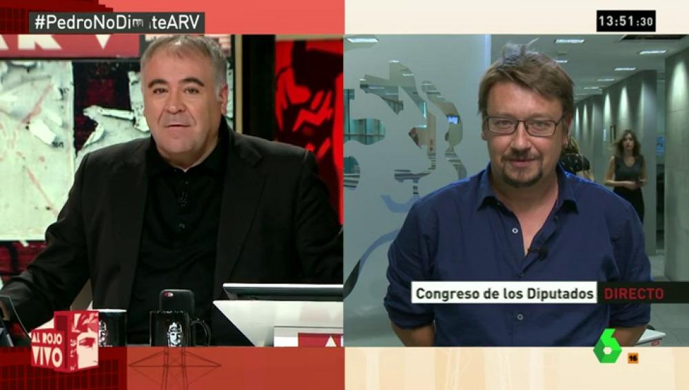 """Domènech: """"El PSOE tiene proyectos confrontados. Deben aclararse para pasar de ser el problema a la solución"""""""