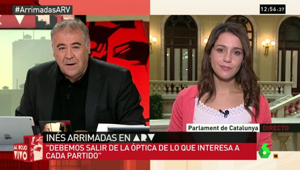 """Arrimadas, de la cuestión de confianza: """"Mientras siguen enfocados en la independencia, Ciudadanos propone"""""""