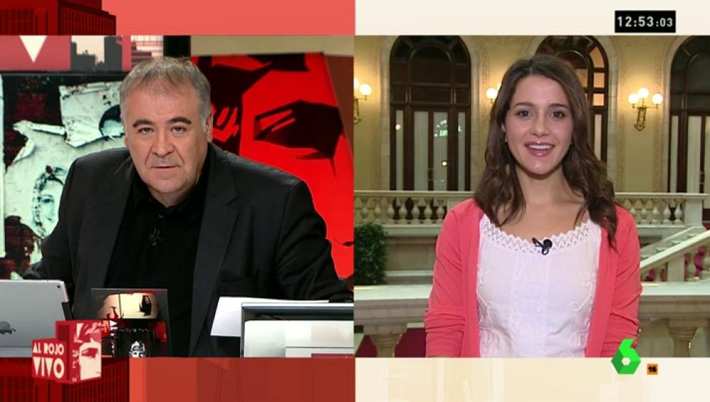 """Inés Arrimadas, de Sánchez: """"Si vamos a elecciones porque quiere mantener su silla es una irresponsabilidad"""""""