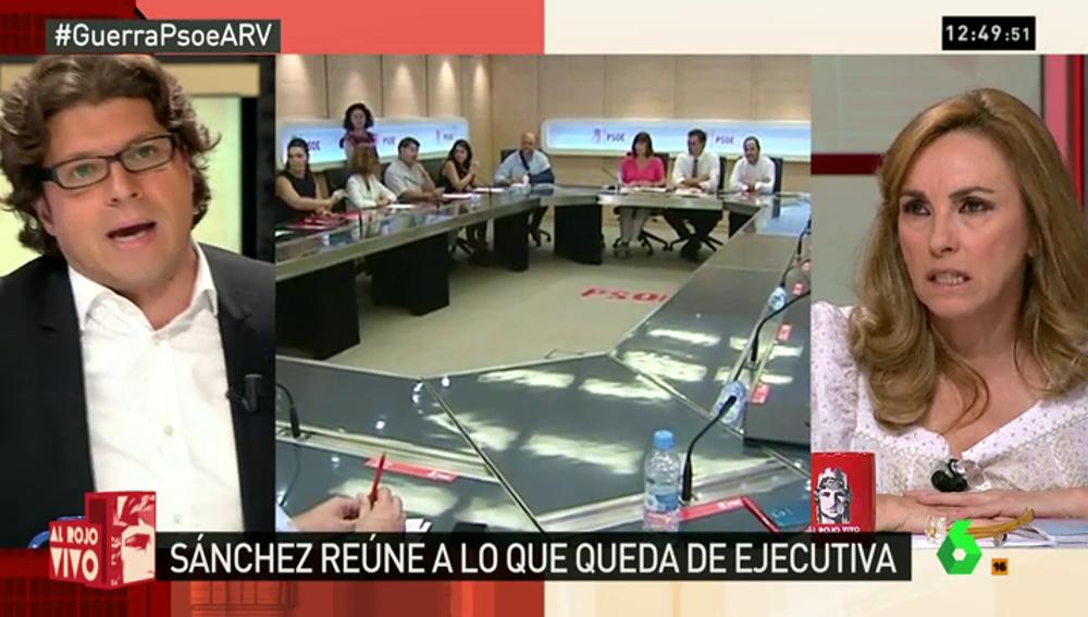 """Frame 223.694286 de: ¿Elecciones, abstención o una hipotética investidura de Sánchez?: ARV, más al rojo que nunca: """"Haya calma, esto no es Ferraz"""""""