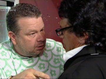 Alberto Chicote advierte a Fermín