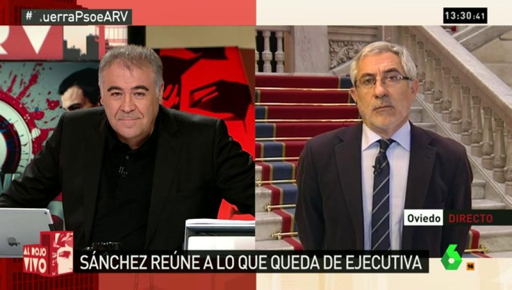 """Gaspar Llamazares: """"Las fuerzas del cambio han buscado diferencias y no coincidencias"""""""