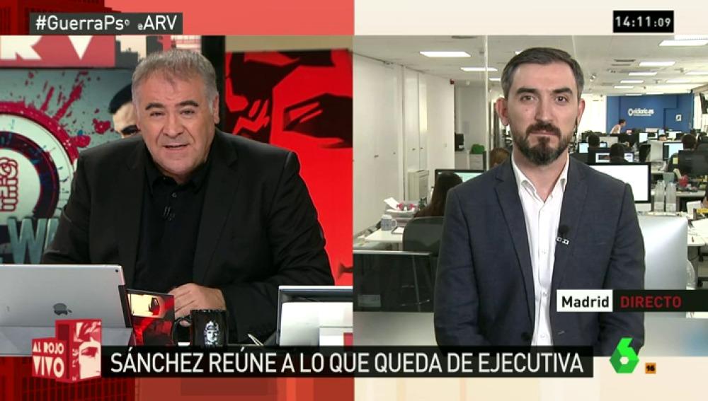 """Ignacio Escolar: """"El daño que sufre el PSOE es mucho mayor de lo que hubieran supuesto terceras elecciones"""""""