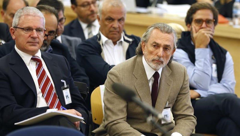Francisco Correa durante el juicio de la Gürtel