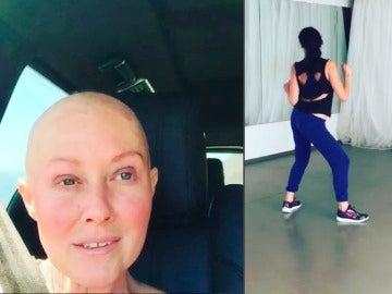 La actriz Shannen Doherty sigue luchando contra el cáncer