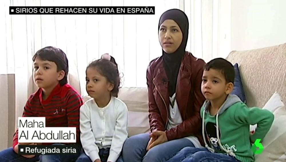 Maha, refugiada siria en Gijón