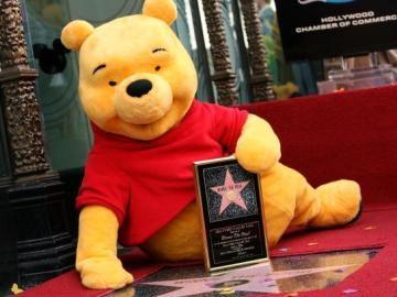 Winnie the Pooh recibe una estrella en el Paseo de la Fama de Hollywood