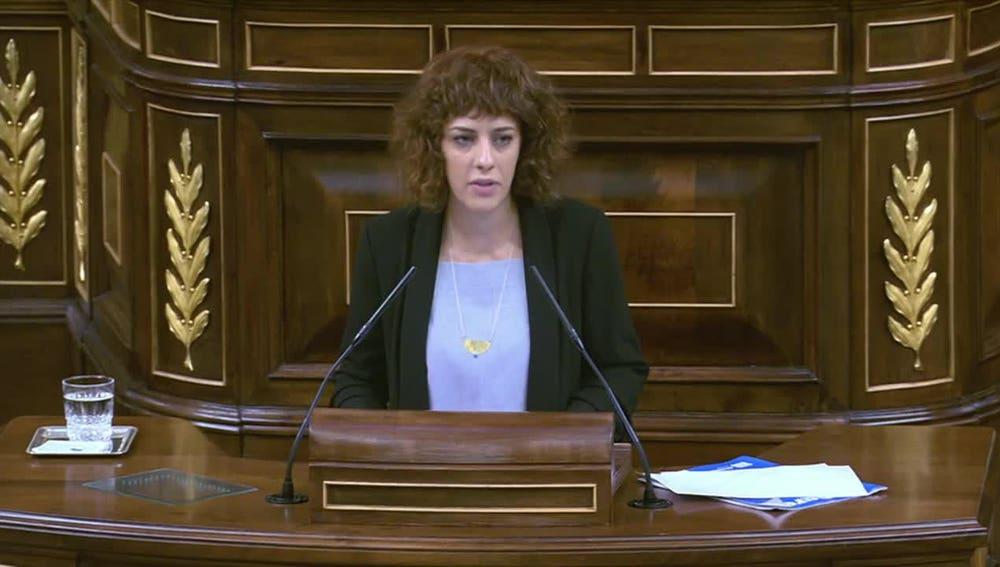 Alexandra Fernández en el Congreso
