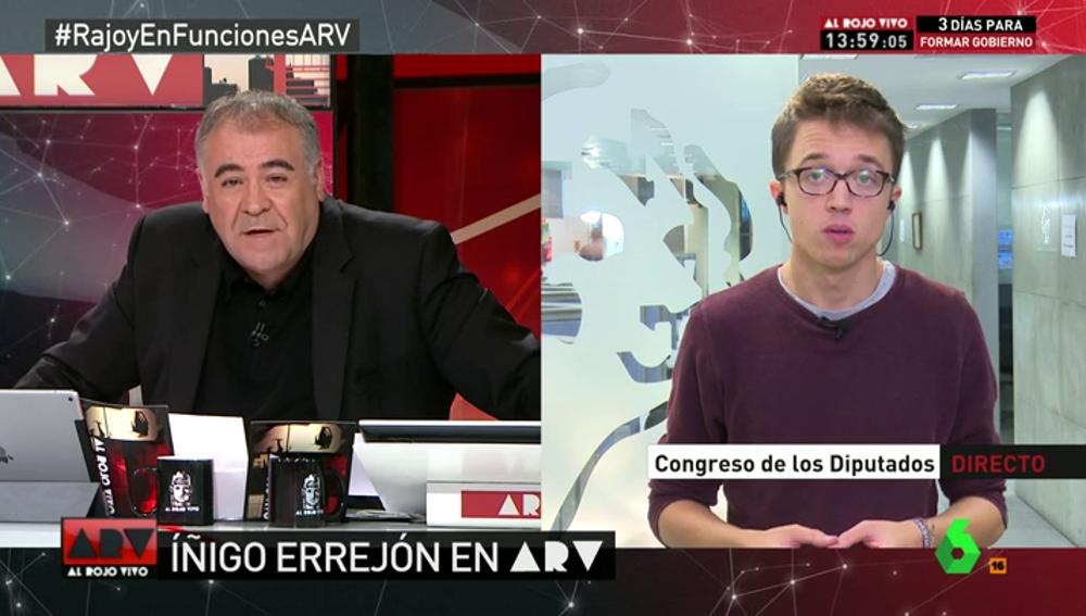 """Frame 136.947175 de:  Errejón: """"Ana Pastor se salta el reglamento para favorecer al PP"""""""