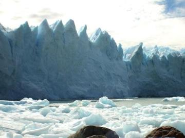 Imagen de un glaciar