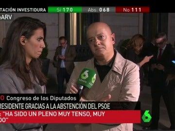 """Frame 42.786242 de: Odón Elorza: """"Rajoy va a pretender sacar tajada de la situación del PSOE"""""""