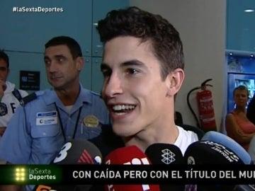 Marc Márquez responde a los aficionados de Sepang