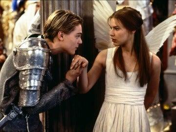Leonardo DiCaprio y Claire Danes en 'Romeo + Julieta'