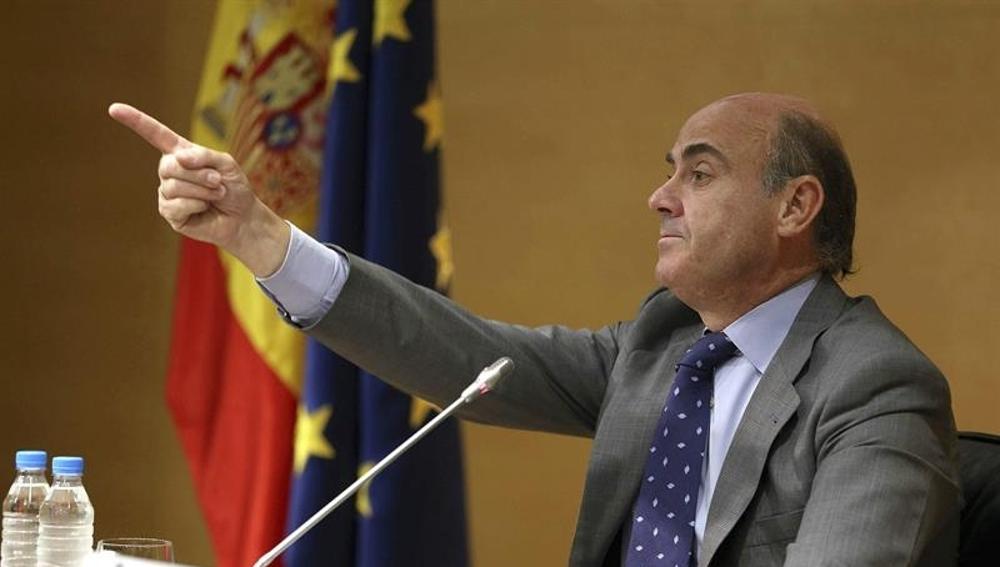 El ministro de Economía español, Luis de Guindos