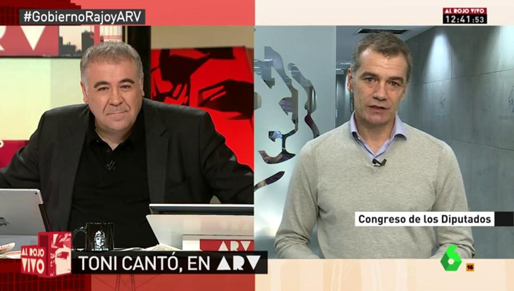 """Frame 71.570363 de: Toni Cantó: """"Trump es populismo, igual que Podemos, Le Pen o los bolivarianos"""""""
