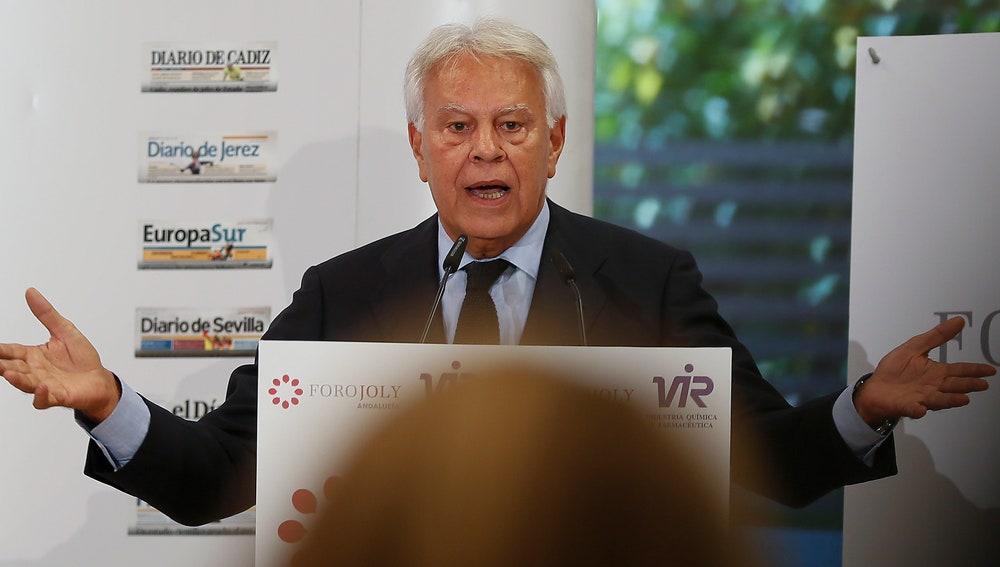 El expresidente del Gobierno Felipe González