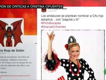 Frame 34.662492 de: Los andaluces tiran de humor y responden con #GraciasCifuentes a las palabras de la presidenta de la Comunidad de Madrid