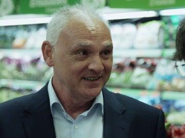 Manuel Rosa, responsable de tienda de Mercadona en Salvados