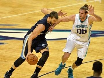 Marc Gasol destaca en una noche negra para los españoles en la NBA