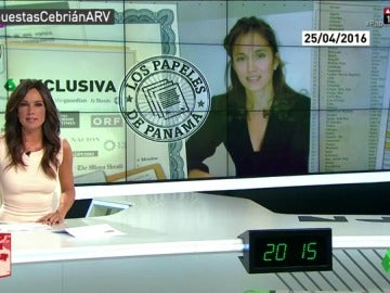 Frame 160.021555 de: Así informó laSexta sobre la aparición de Teresa Aranda, exmujer de Juan Luis Cebrián, en los 'Papeles de Panamá'