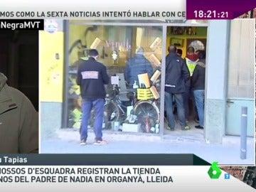 Frame 5.145364 de: Los Mossos d'Esquadra registran la tienda de vinos del padre de Nadia en Lleida