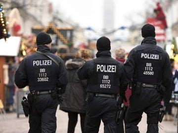 Agentes de Policía alemana