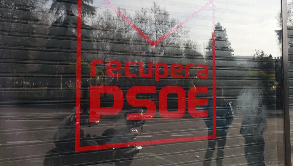 Sede de los críticos del PSOE en Ferraz