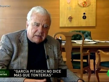 """Frame 34.754782 de: Paco Roig: """"Veo al Valencia muerto; García Pitarch se tiene que ir, ha hecho un equipo de mierda"""""""