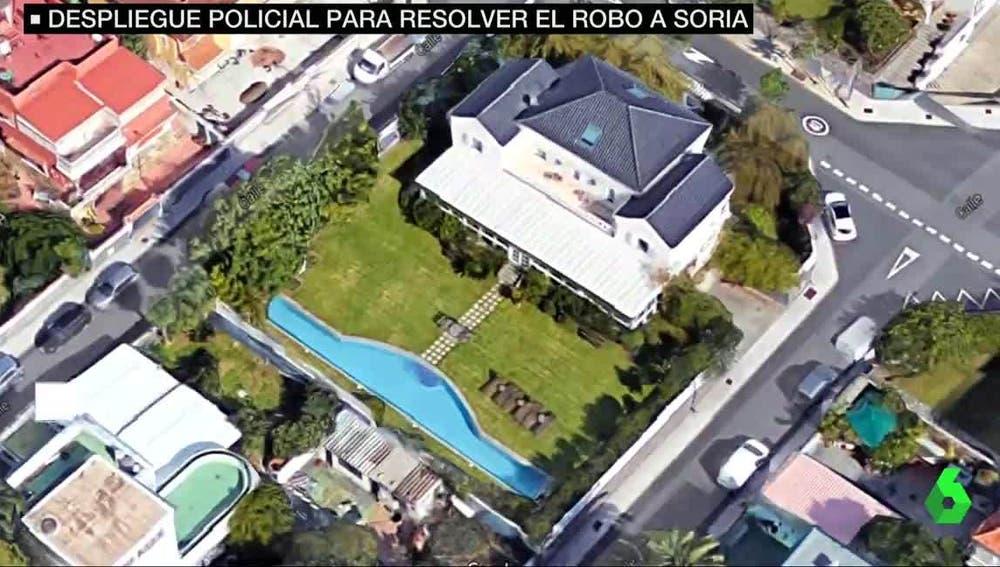Casa del exministro José Manuel Soria