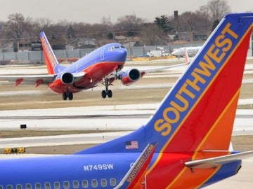 Una imagen de archivo de un avión de la compañía Southwest