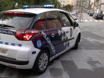 Coche de la Policía Local de A Coruña