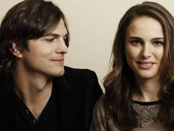Natalie Portman y Ashton Kutcher, en una imagen promocional de 'Sin compromiso'