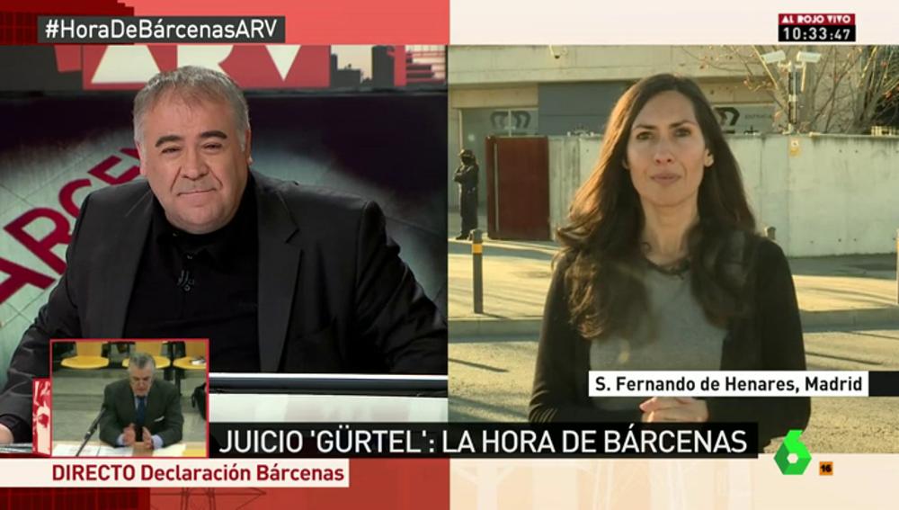 """Frame 16.615921 de: Marisa Gallero, sobre la declaración de Bárcenas: """"Su estrategia es no atacar ahora mismo al PP, sino defenderse"""""""