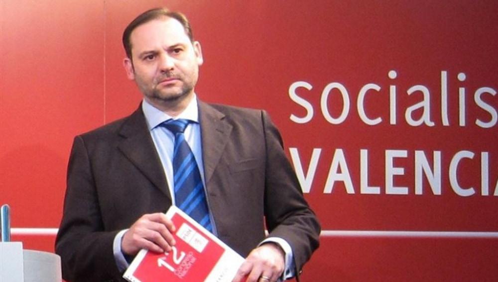 José Luis Ábalos, secretario general del PSOE de Valencia